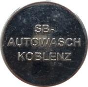 Car Wash Token - SB Autowasch (Koblenz) – obverse