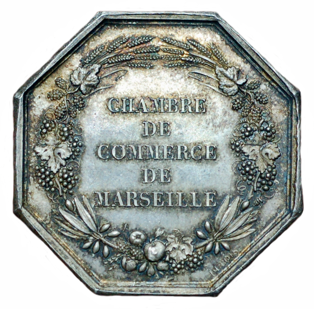 Chamber of commerce marseille tokens numista for Chambre de commerce marseille