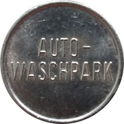 Car Wash Token - Auto Waschpark – obverse