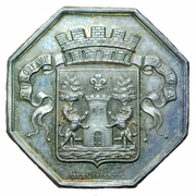 Token - Chamber of commerce, Bayonne – obverse