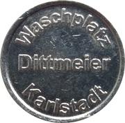 Car Wash Token - Waschplatz Dittmeier (Karlstadt) – obverse
