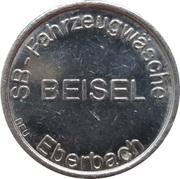 Car Wash Token - SB Fahrzeugwäsche Beisel (Eberbach) – obverse