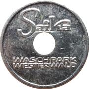Car Wash Token - Saika Waschpark Westerwald (Heiligenroth) – reverse