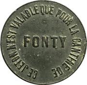 10 Centimes - Cantine du fort d'Asnières – obverse