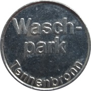 Car Wash Token - Kärcher Clean Park (Tennebronn) – obverse