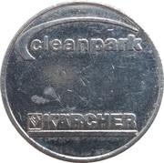 Car Wash Token - Kärcher Clean Park (Tennebronn) – reverse