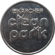 Car Wash Token - Kärcher Clean Park (Avia Tessol, Besigheim) – reverse