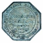 Token - Compagnie Bordelaise maritime insurance – reverse