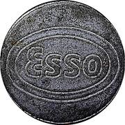 Car Wash Token - Esso – obverse