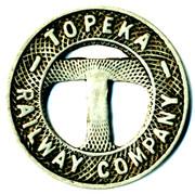1 Fare - Topeka Railway Company (Topeka, Kansas) – obverse
