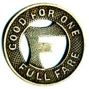1 Full Fare - Colorado Springs & Interurban Railway Co. (Colorado Springs, Colorado) – reverse