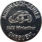 Car Wash Token - Autowash-Center Ohrbuehl (Winterthur) – obverse
