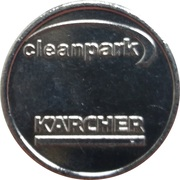 Car Wash Token - Kärcher Clean Park (Wedel) – reverse