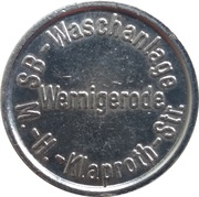 Car Wash Token - Kärcher Clean Park (Wernigerode) – obverse