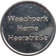 Car Wash Token - Waschpark (Herne) – reverse