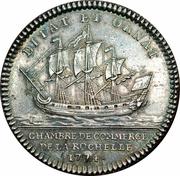 Chamber of commerce La Rochelle - Louis XVI – reverse