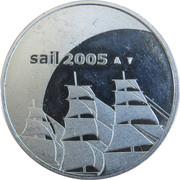 Penning - Sail Amsterdam 2005 – obverse