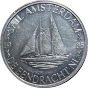 1 Daalder - Sail '85 Amsterdam (De Eendracht) – obverse