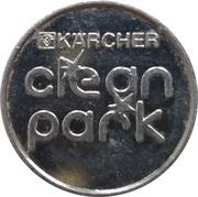 Car Wash Token - Kärcher Clean Park (Amorbach) – reverse