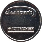 Car Wash Token - Kärcher Clean Park (Bisingen) – reverse