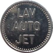Car Wash Token - Lav Auto Jet – obverse