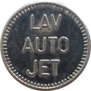 Car Wash Token - Lav Auto Jet – reverse