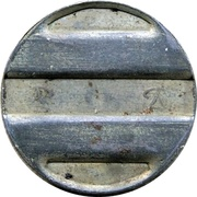 Telephone Token (2 Phones) – reverse