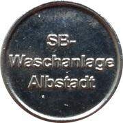 Car Wash Token - SB Waschanlage (Albstadt) – obverse