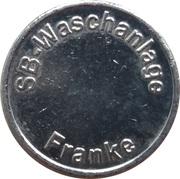 Car Wash Token - SB Waschanlage Franke – obverse