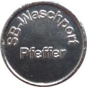 Car Wash Token - SB Waschport Pfeffer – obverse