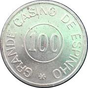 100 - Grande Casino de Espinho – reverse