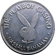 1 Dollar Gaming Token - The Playboy Casino (Nassau, Bahamas) – obverse