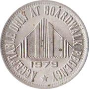 1 Dollar - The Boardwalk Regency (Atlantic City, New Jersey) – obverse