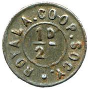 ½ Penny - Royal Arsenal CS (Kent) – obverse