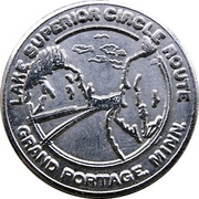 Token - Lake Superior Circle Route – obverse