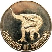 Token - Dinosaurs of Gondwana (Tokyo) – reverse