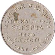 25 Cents - Sofspra (Portland, Oregon) – obverse