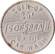 25 Cents - Sofspra (Portland, Oregon) – reverse
