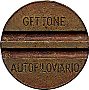 Trolleybus Token - Gettone Autofiloviario (Brescia) – obverse