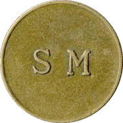 Token - C.C. Sporrong & Co (SM) – reverse