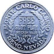1 Slot Play - Monte Carlo Casino (Reno, Nevada) – reverse