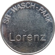 Car Wash Token - Kärcher Clean Park Lorenz – obverse