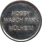 Car Wash Token - Hobby Wasch Park (Mülheim) – obverse