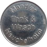 Car Wash Token - Tank & Wasch Mandler (Heuchelheim) – obverse