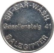 Car Wash Token - SB Car Wash (Salzgitter) – obverse