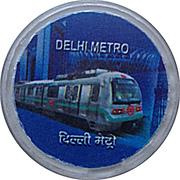 Metro Token - Delhi – obverse