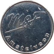 Car Wash Token - Wasboxmunt M&F (Amstelveen) – obverse