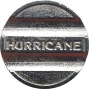 Car Wash Token - Hurricane King Wash – reverse