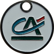 Shopping Cart Token - Crédit Agricole – obverse