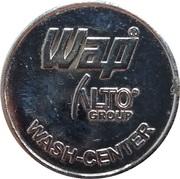 Car Wash Token - WAP Alto Group (20 mm) – reverse